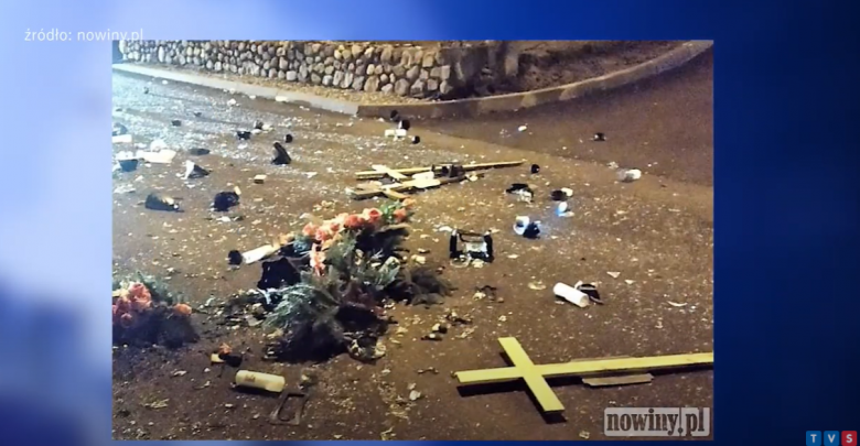 Ktoś zdewastował cmentarz parafialny w Lubomii! [WIDEO]