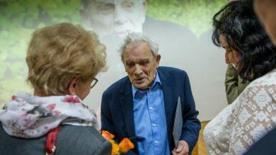 Mjr Aleksander Tarnawski, ostatni żyjący cichociemny, skończył 100 lat. Fot. UM Gliwice