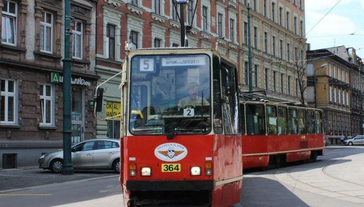 Od poniedziałku Bytom połączony zostanie z Zabrzem i przystankiem Gliwice Zajezdnia nową linią tramwajową nr 2. [fot. poglądowa / UM Bytom]