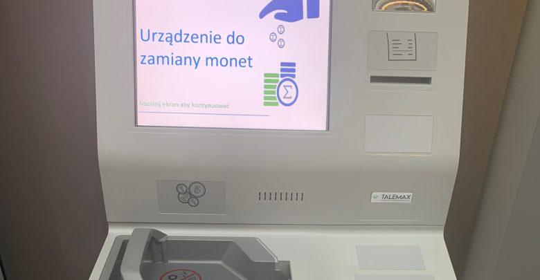 maszyna do zamiany monet (foto: NBP)