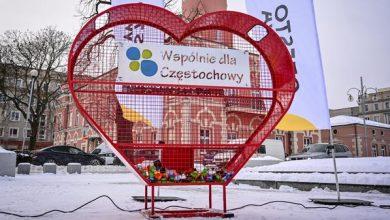 Walentynkowe eko-serce w Częstochowie. Można pomóc 11-letniemu Michałowi. Fot. UM Częstochowa
