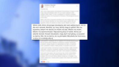 Mieszkańcy Sosnowca są niewdzięczni? Prezydent miasta się wkurzył na Facebooku
