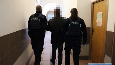 Pies w mikrofalówce, dręczona kobieta i narkotyki. Policja zatrzymała dwóch mężczyzn (fot.policja.pl)