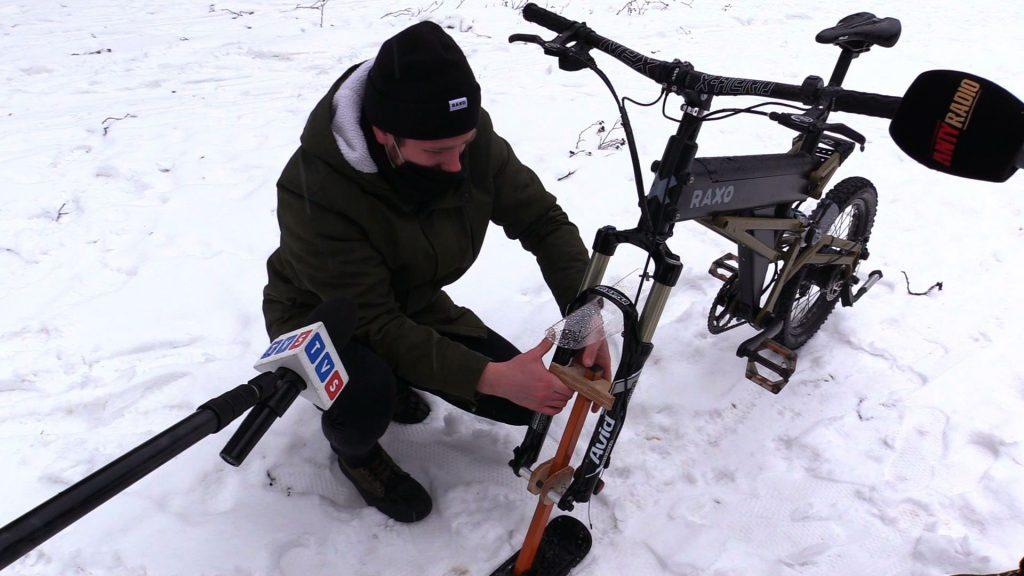 Narta, koło i śnieg, czyli nartorower wjeżdża na Śląsk!