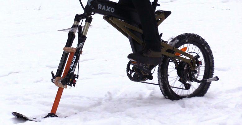 RAXO xBike, czyli jak zrobić nartorower? Wynalazek podbija Śląsk!