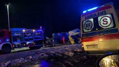 Zobaczcie ZDJĘCIA i WIDEO z miejsca wypadku na S-1 w Dąbrowie Górniczej!