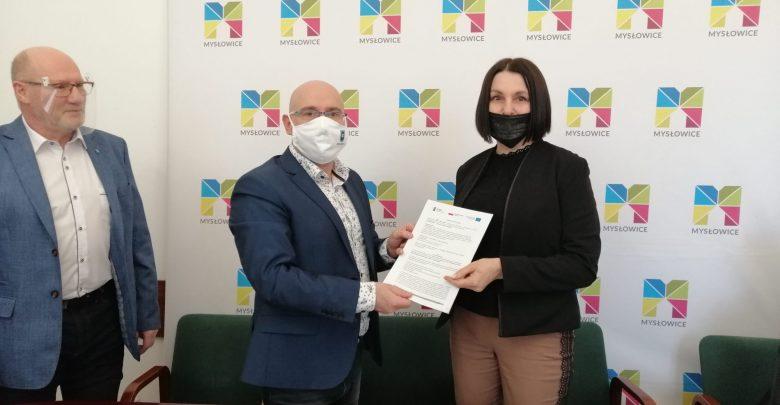 Mysłowice: Park Zamkowy będzie zrewitalizowany. Fot. UM Mysłowice