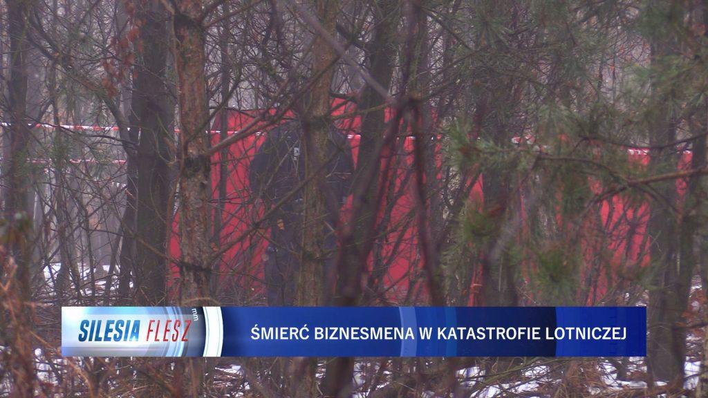 Prokuratura zleciła przeprowadzenie sekcji zwłok dwóch osób, które zginęły w katastrofie śmigłowca Bell 429 w okolicach Pszczyny