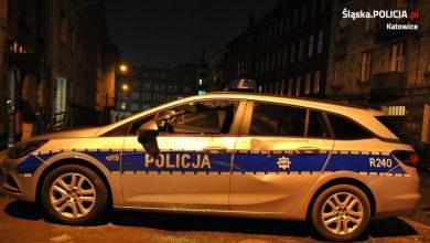 Po pijaku przyjechał na komisariat. Zniszczył radiowóz [ZDJĘCIA]. Fot. Śląska Policja