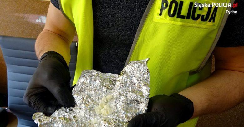 Tychy: kolejny diler zatrzymany. Miał tysiąc działek amfetaminy [WIDEO]. Fot. Policja Śląska
