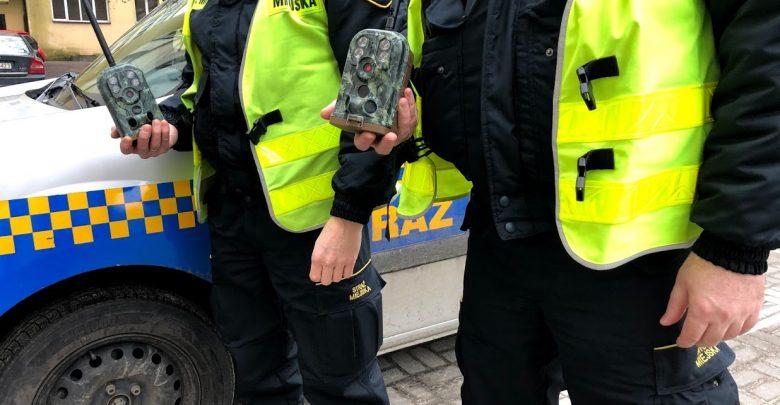 Uważaj! Jesteś w ukrytej kamerze. Fotopułapki w Świętochłowicach. Fot. UM Świętochłowice