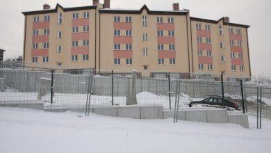 Jeden z wcześniej wybudowanych budynków komunalnych przy ul. Wapiennej. [fot. Paweł Sowa / UM Bielsko-Biała]