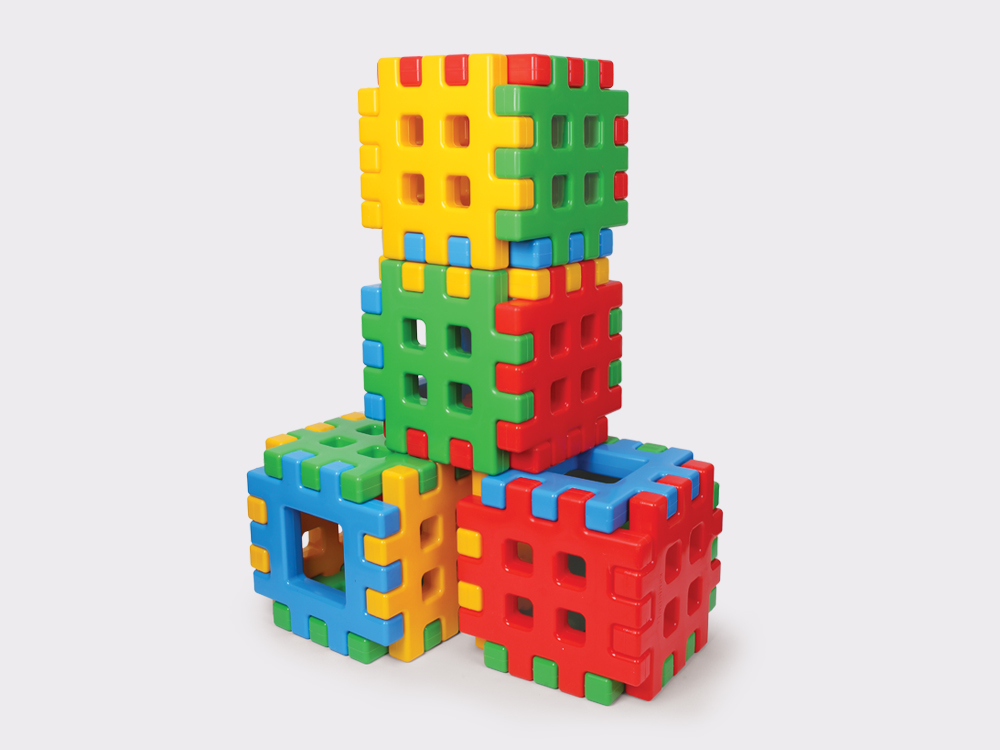 Kreatywne zabawki – poznaj polskie klocki Waffle firmy Marioinex (foto: materiały partnera)