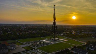 Gliwice: Skwer przy Radiostacji - skwerem Franza Honioka. Fot. R. Neumann/UM Gliwice
