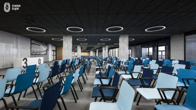 Centrum Konferencyjno-Biznesowe na Stadionie Śląskim ma mieć prawie 1800 m2 (fot.Stadion Śląski)