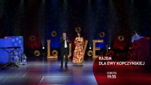 Zagrają dla Ewy Kopczyńskiej. W najbliższą sobotę na antenie Telewizji TVS zostanie wyemitowany koncerty charytatywny, którego celem jest zebranie środków na rehabilitację Ewy Kopczyńskiej