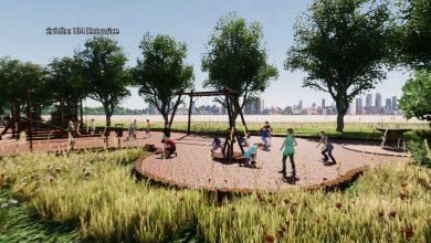 Park jest już zaprojektowany, zbierane są niezbędne zezwolenia. Ma skupiać w sobie dwa aspekty: ekologiczny oraz rekreacyjny