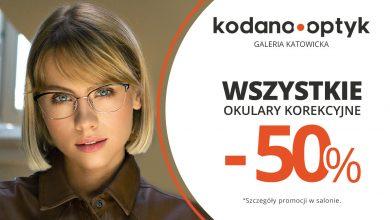 Wszystkie okulary korekcyjne (oprawki + soczewki okularowe) 50% taniej w KODANO Optyk! (fot.materiały partnera)