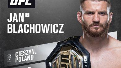 MAMY TO! Jan Błachowicz znowu górą! Obronił tytuł. Fot. UFC