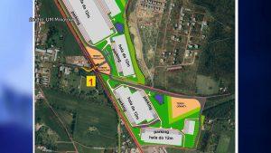 Mikołów: Obok osiedla domków mają powstać ogromne hale produkcyjne! Mieszkańcy protestują!