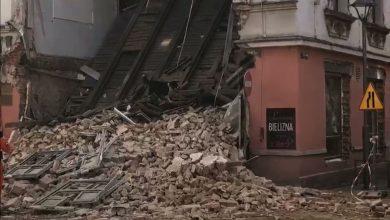 Robotnicy remontujący zawaloną kamienicę w Rybniku pod wpływem alkoholu? Trwają przesłuchania