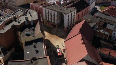 """Dlaczego runął """"Świerklaniec"""" w Rybniku? Trwa ustalanie przyczyn katastrofy budowlanej"""