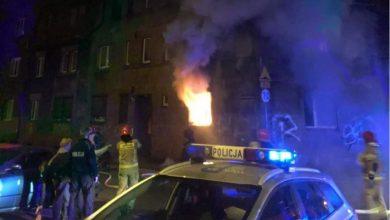 Tragiczny pożar w Mysłowicach. Doszło do rozszczelnienia butli z gazem (fot.Śląska Policja)