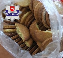 Miał w domu 1.5 kilograma ciasteczek z marihuaną. 19-latkowi grozi do 10 lat więzienia (fot.Policja Lubelska)