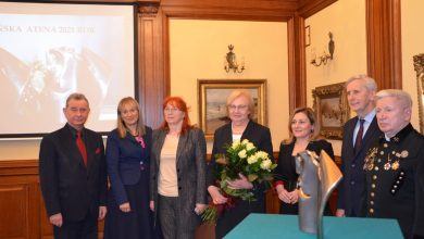 Znamy już laureatów nagrody zainicjowanej przez przez prezydent Zabrza, dr Małgorzatę Mańkę-Szulik. Zabrzańska Atena jak co roku trafiła ręce ludzi nauki i przedsiębiorczości (fot.UM Zabrze)