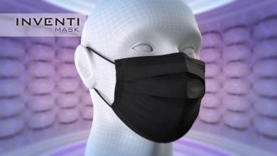 Inventi Mask na pomoc w walce z pandemią (foto: materiał partnera)