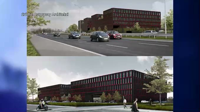 POTĘŻNY biurowiec powstanie przy DTŚ w Katowicach. To nowy budynek prokuratury