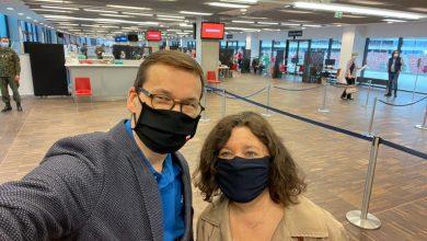Premier Morawiecki o tym, że on i jego żona zaszczepili się Astrą Zenecą poinformował w mediach społecznościowych (fot.Mateusz Morawiecki/twitter)