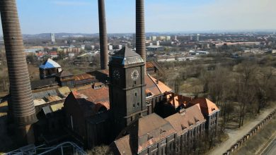 Bytom: Czy miasto kupi tereny wokół zabytkowej EC Szombierki? Grunty mają trafić pod młotek