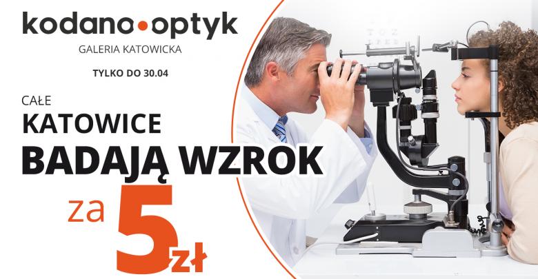 Całe Katowice badają wzrok za 5 zł w KODANO Optyk (materiały prasowe partnera)