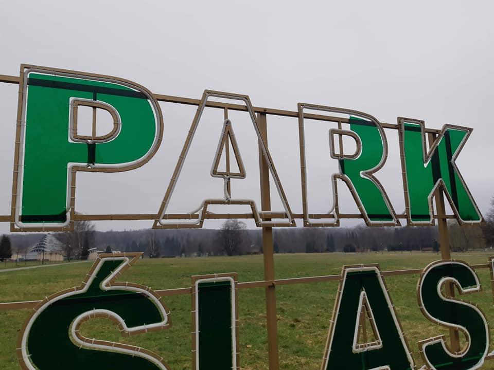 I komu to przeszkadzało? Ktoś zniszczył napis PARK ŚLĄSKI! Władze parku załamują ręce nad czyjąś głupotą (fot.Park Śląski)