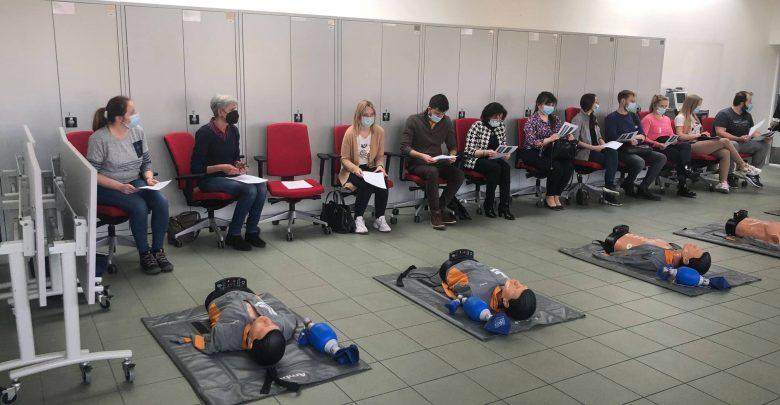 Trwają szkolenia w ŚUM. Fizjoterapeuci i farmaceuci będą szczepić. Fot. FB/Śląski Uniwersytet Medyczny
