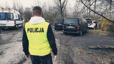 36-letni mężczyzna został zastrzelony przez policjanta, kiedy mierzył do niego z broni. Dramatyczne sceny rozegrały się w poniedziałek, 19 kwietnia rano przy garażach w Bykowinie, dzielnicy Rudy Śląskiej (fot.Policja Śląska)