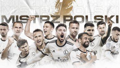 Legia Warszawa 16. raz piłkarskim Mistrzem Polski! Warszawa dziś nie zaśnie! (fot.Legia Warszawa)
