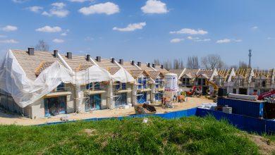 Domy rosną jak kwiaty. Kwiatowa Dolina powstaje w Sosnowcu (fot.UM Sosnowiec)