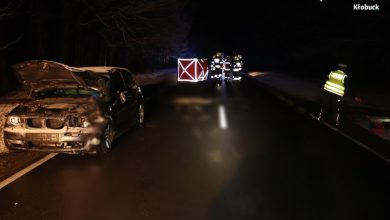 Śląskie: Tragedia na DK42. Nie żyje pieszy (fot.Śląska Policja)
