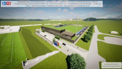 Bytom: Budowa nowego boiska Polonii Bytom. Miasto przeznacza dodatkowe pieniądze na inwestycję (fot.UM Bytom)