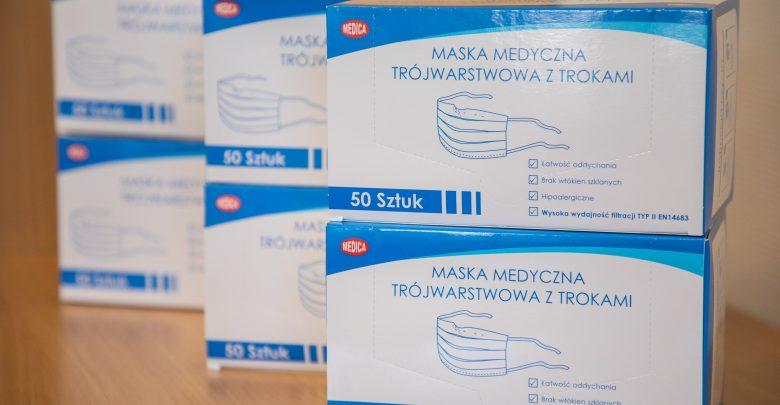 W Bielsku rozdadzą mieszkańcom... ponad 600 tysięcy maseczek. Fot. UM Bielsko-Biała