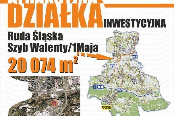 Ruda Śląska sprzedaje 2 hektary. Ale nie byle jakie 2 hektary (fot. UM Ruda Śląska)