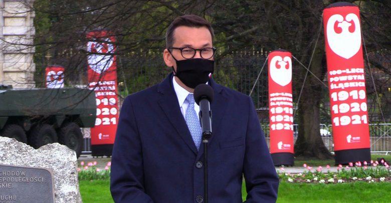 Chorzów: Premier Morawiecki na uroczystościach setnej rocznicy III Powstania Śląskiego