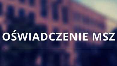 Oświadczenie MSZ w sprawie przymusowego lądowania samolotu linii Ryanair w Mińsku (fot.MSZ)