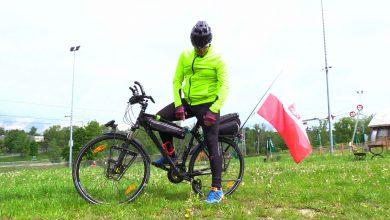 Przez równy rok chce rowerem przejechać Europę! Dariusz Flesiński z Sosnowca jedzie by pomóc Liliance
