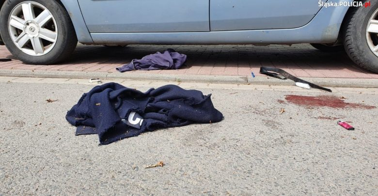43-letni policjant zginął podczas pełnienia służby w Raciborzu. Strzelił do niego bandyta, który w ubraniu przypominającym policyjne, usiłował kontrolować samochody (fot. KWP Katowice)