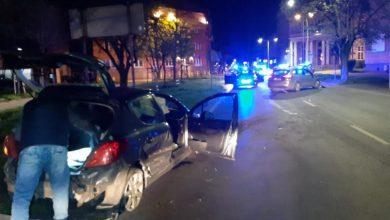 Pościg i strzelanina w Częstochowie. Kierowca chciał zepchnąć radiowóz z drogi! (fot.KMP Częstochowa)
