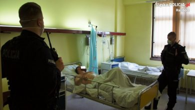 Jest areszt dla podejrzanego o zabójstwo policjanta w Raciborzu. Fot. KPP Racibórz