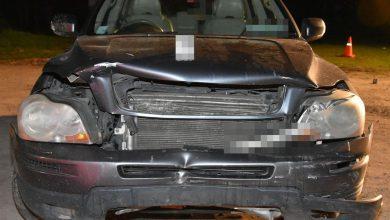 Volvo wjechało w wiatę. Dwie osoby nie żyją (fot.Policja Lubelska)